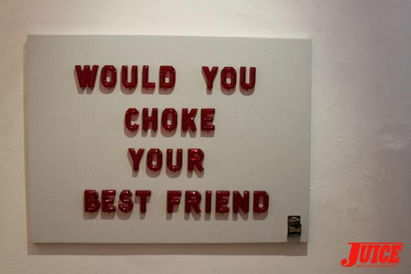 Would You Choke Your Best Friend?