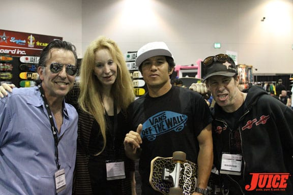 The Hacketts, Chrisitian Hosoi and Jim Murphy