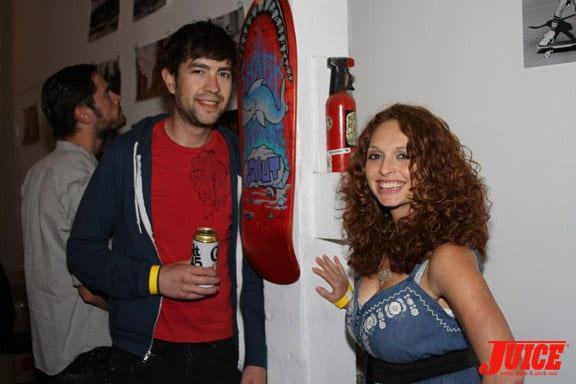 Ilana Taub and friend