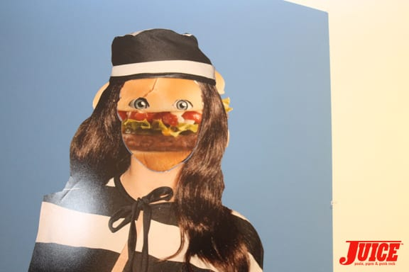 Hamburgler Face and fall fashion.