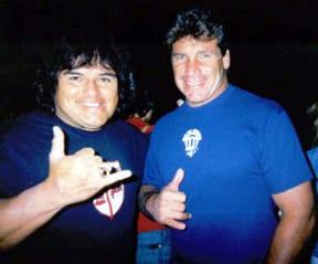 Rene Carrasco and Allen Sarlo. Photo: Carrasco