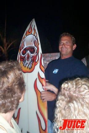 Baja surfboard winner. Photo: Dan Levy