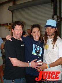 Murf, Kelly and Alva at ESS. Photo: Terri Craft