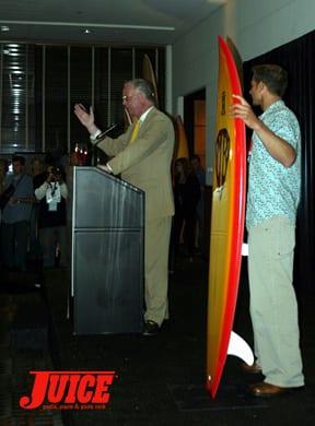 Surfrider Foundation 20th Anniversary. Photo: Dan Levy