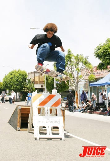 VSA Best Trick Skate Contest. Photo: Dan Levy