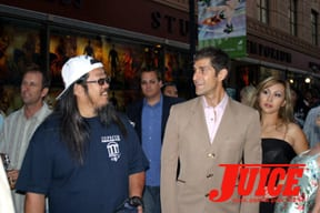 Jeff Ho and Perry Farrell. Photo: Dan Levy