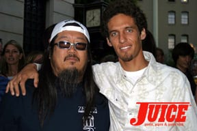 Jeff Ho and Rob. Photo: Dan Levy