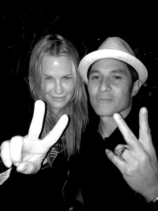 Daryl Hannah and Christian Hosoi. Photo: Lance Lemond