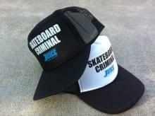 Skateboard Criminal Hat