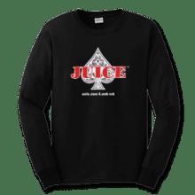 Juice Ace of Spades Black Long Sleeve TShirt