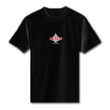 Juice Ace of Spades Mini Logo Black Short Sleeve Tshirt