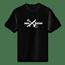 Juice Build and Destroy Black Short Sleeve TShirt