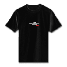 Juice Keep Skateboarding A Crime Mini Logo Black Short Sleeve Tshirt