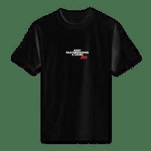 Juice Keep Skateboarding A Crime Mini Logo Black Short Sleeve Tshirt