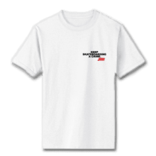 Juice Keep Skateboarding A Crime Special Ops White Short Sleeve Tshirt