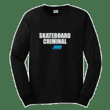 Juice Skateboard Criminal Black Long Sleeve TShirt