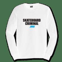 Juice Skateboard Criminal White Long Sleeve TShirt
