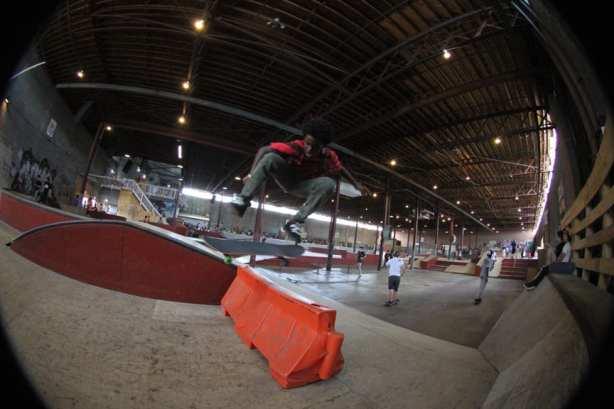 Kickflip. Photo: Dan Levy