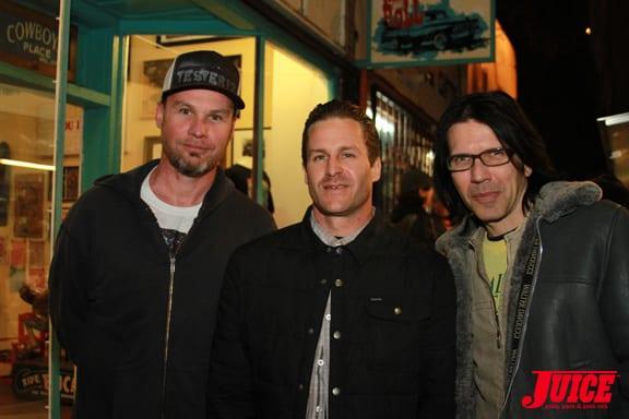 Jeff Ament, Jason Jessee, London May PHOTO © DAN LEVY
