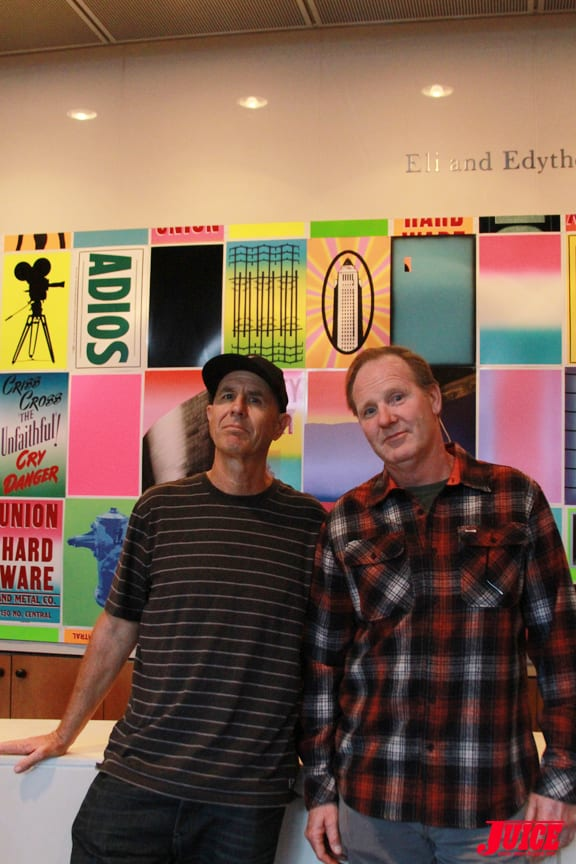 C. R. Stecyk and Jim Muir Photo © Dan Levy
