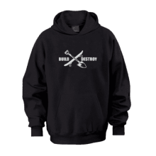 Juice Build and Destroy Pull Over Hoodie