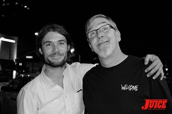Alex-Olson-and-Prof-Paul-Schmitt