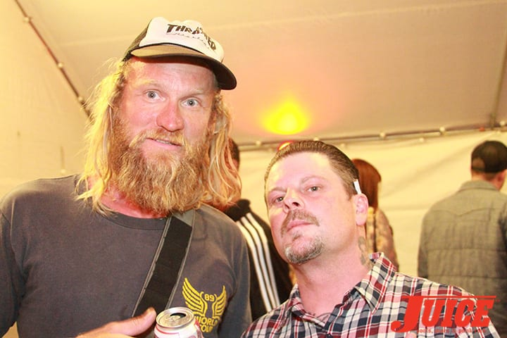 Andy Wauman and Eric Dressen. Daggers Rule! 2014. Photo by Dan Levy