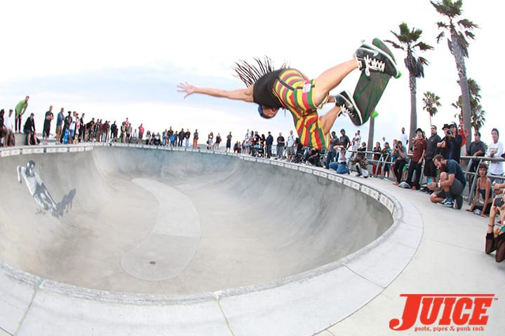 BENNETT HARADA. SHOGO KUBO MEMORIAL SKATE SESSION VENICE. PHOTO BY DAN LEVY