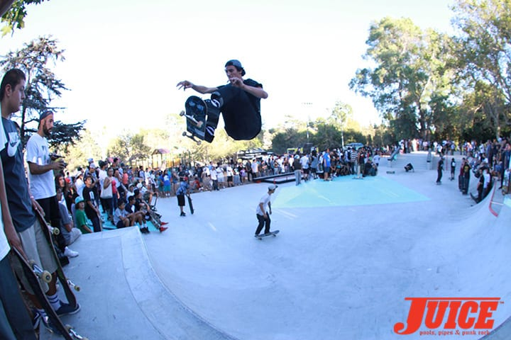 David Loy. Diamond Skate Plaza Opening Day 2014. Photo by Dan Levy.