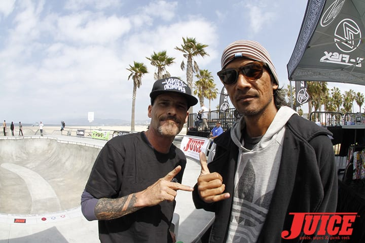 Tim Jackson and Pat Ngoho. Z-Flex Jay Boy Classic. Photo by Dan Levy