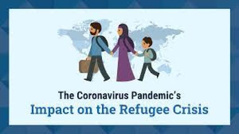 The Coronavirus Pandemic and the Refugee Crisis [Infographic] - Venngage