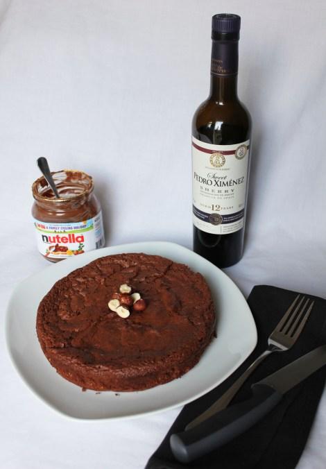 nutella cake px sherry