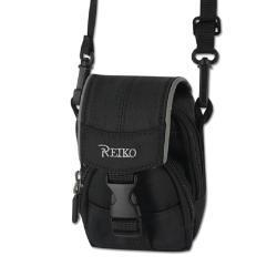Reiko Small Carrying Camera Case 3.5X2.71X0.95 Inches In Black CMC03-MBK