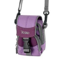 Reiko Small Carrying Camera Case S Size Inches In Purple CMC03-SPP