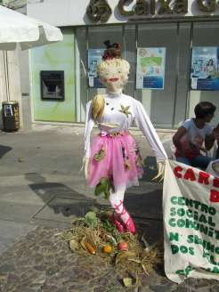 ballerina scarecrow