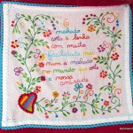 H is for Handkerchiefs of Love; a Romantic Portuguese Tradition