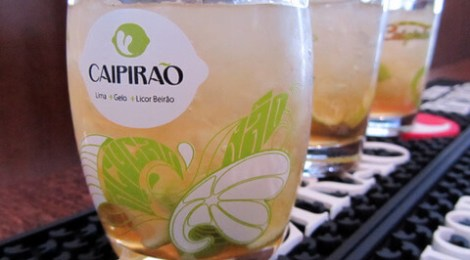 A Portuguese twist on the Brazilian cocktail, 'caipirinha'