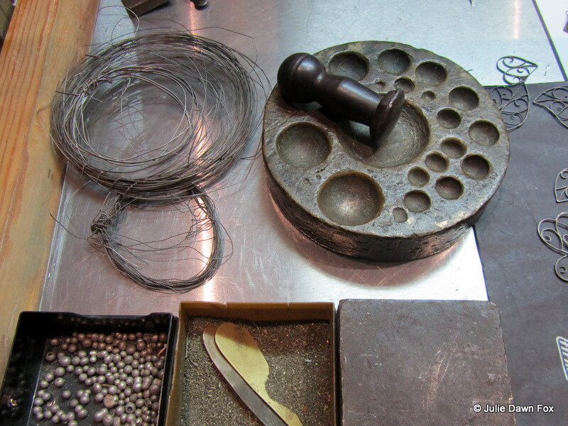 equipment for making filigree jewellery