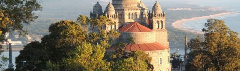 The basilica of Santa Luzia at Viana do Castelo, Portugal. Image courtesy of Forrest Walker