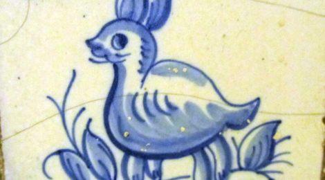 Portuguese azulejo animal