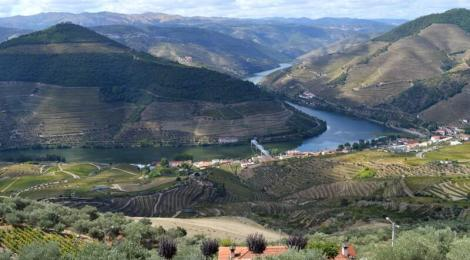 View from Casal de Loivos, Douro Valley, Portugal
