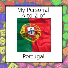 My A to Z of Portugal badge