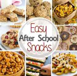 Small Of After School Snacks