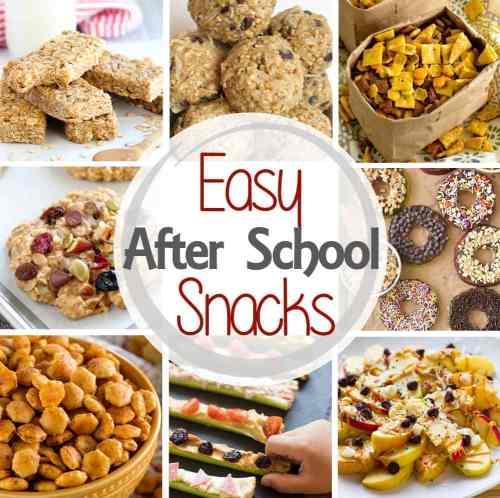 Medium Of After School Snacks