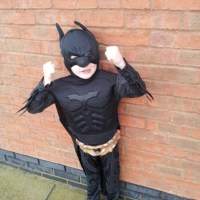 Batman fancy dress outfit review - joke.co.uk