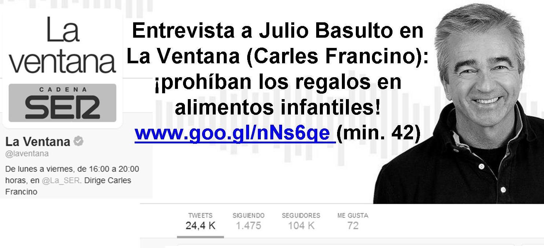Cadena ser archivos julio basulto for Cadena ser francino