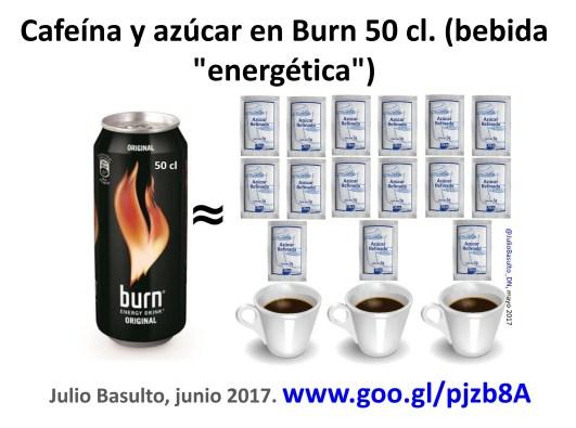 burn bebida energetica