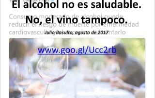 alcohol no es saludable