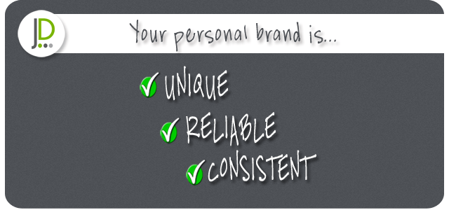 Personal Branding Rules – Unique, Reliable, Consistent