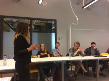 Julita Davies, Branding Session, University of Amsterdam